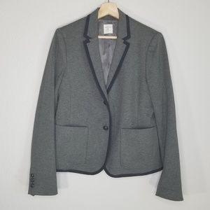 Gap the Academy Blazer in grey and navy jacket M55